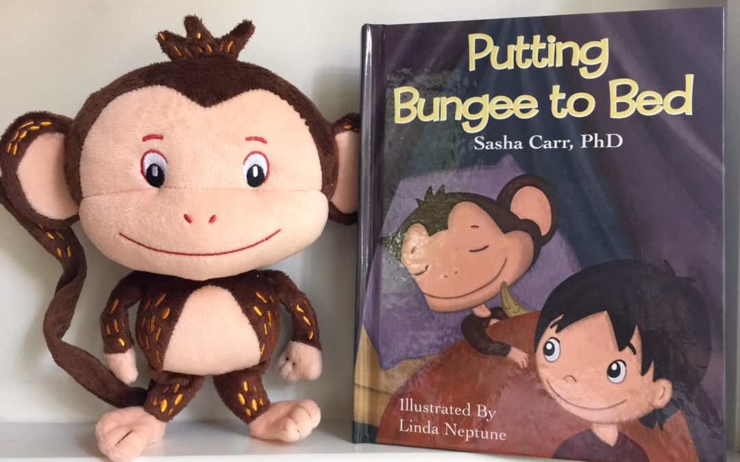 Putting Bungee to Bed bedtime book is here!