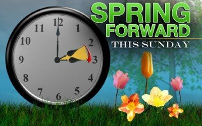 Spring Forward (Mostly) Painlessly this Daylight Saving Weekend