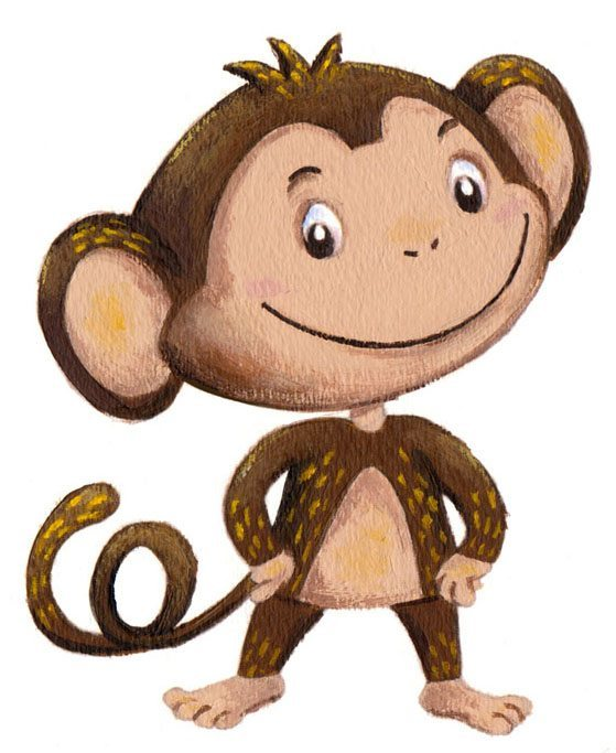 Bungee the Monkey from Putting Bungee to Bed
