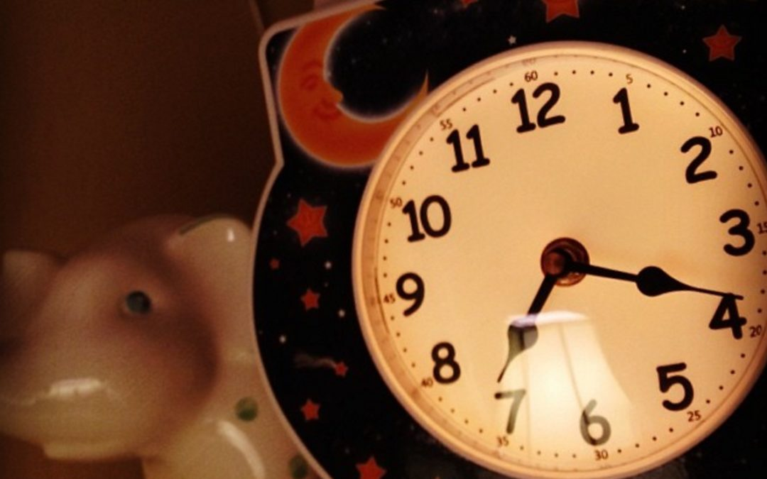 Using a Toddler Sleep Clock for Sleep Teaching